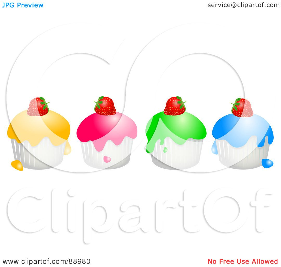 Royalty Free Rf Clipart Illustration Of A Row Of