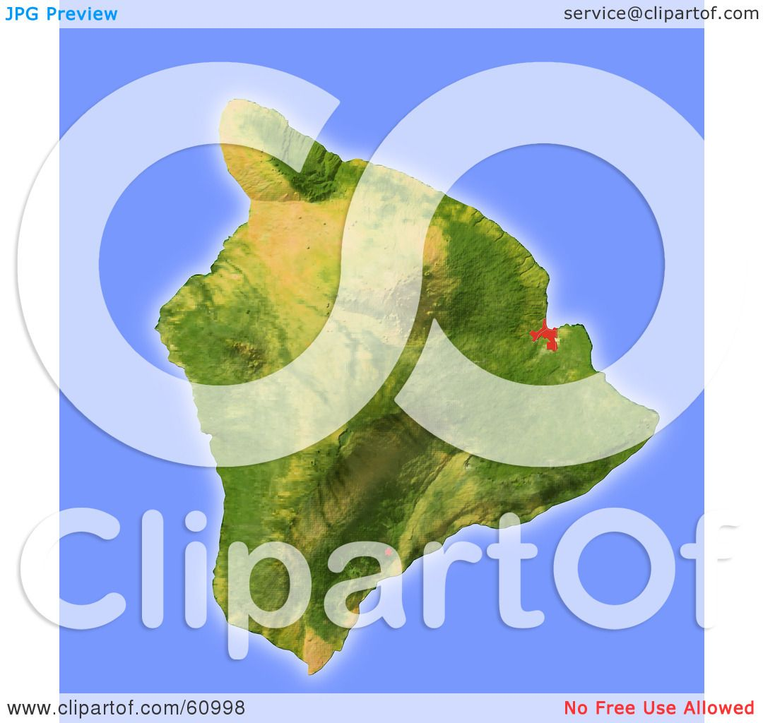 Royaltyfree RF Clipart Illustration of a Shaded Relief