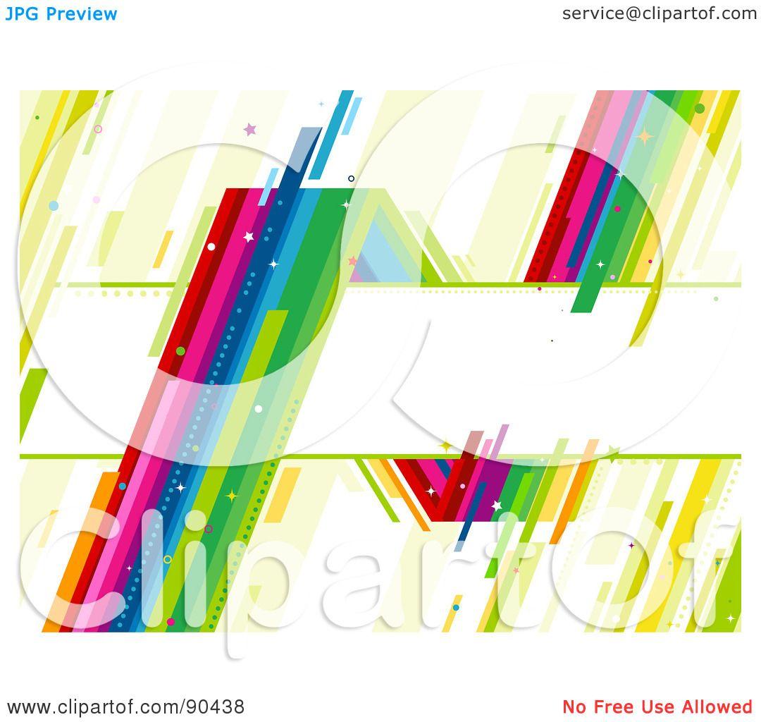 Rainbow Around a Text Box