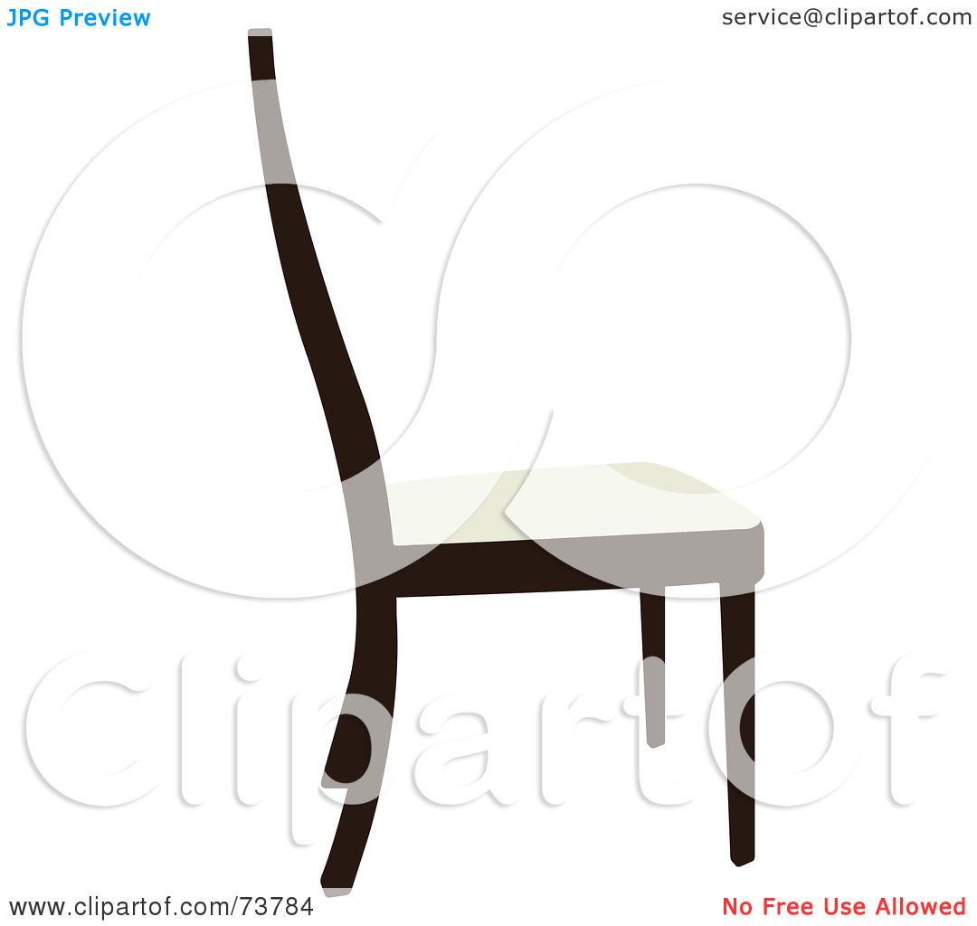 RoyaltyFree RF Clipart of Chairs Illustrations Vector