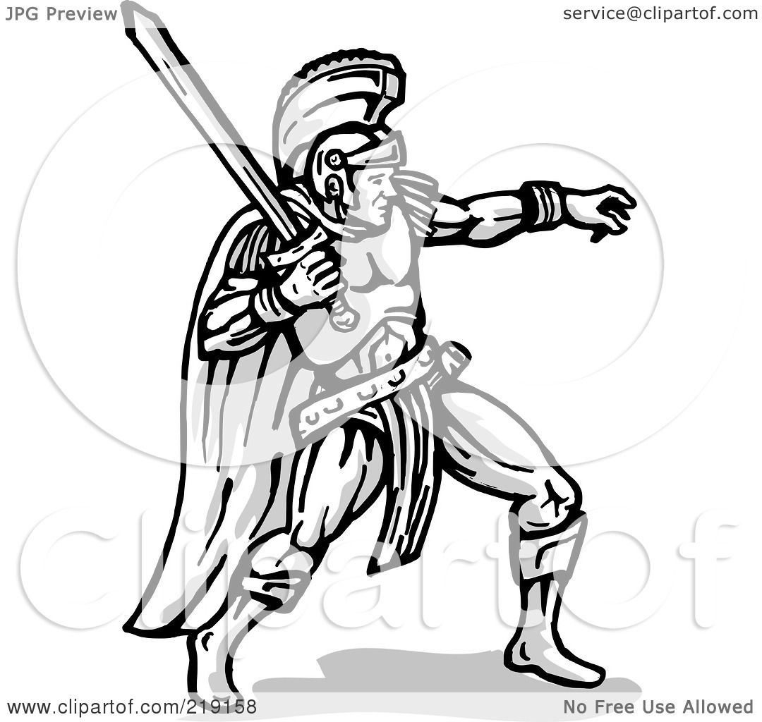Royalty Free Rf Clipart Illustration Of A Sketched