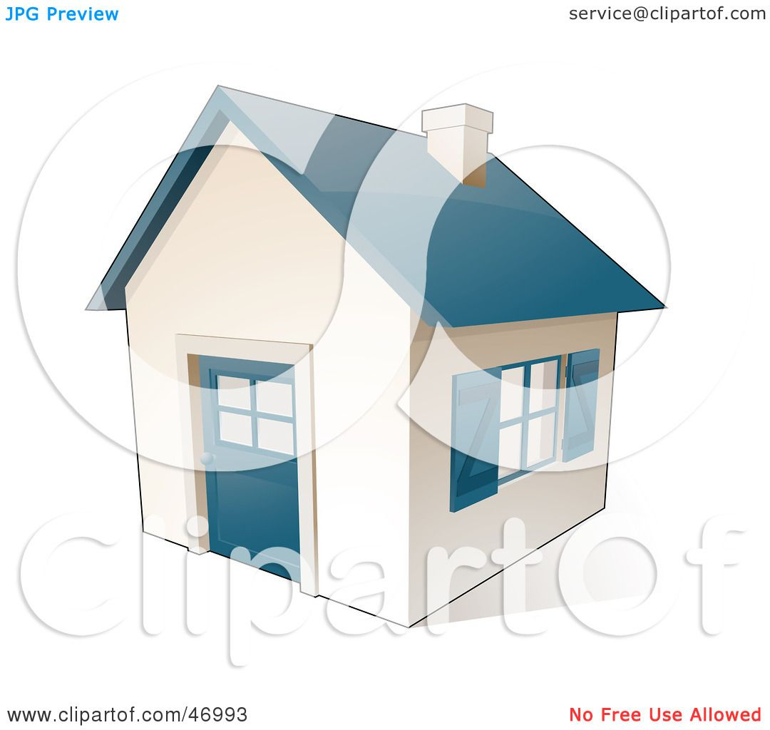 Royalty Free Rf Clipart Illustration Of A Small White