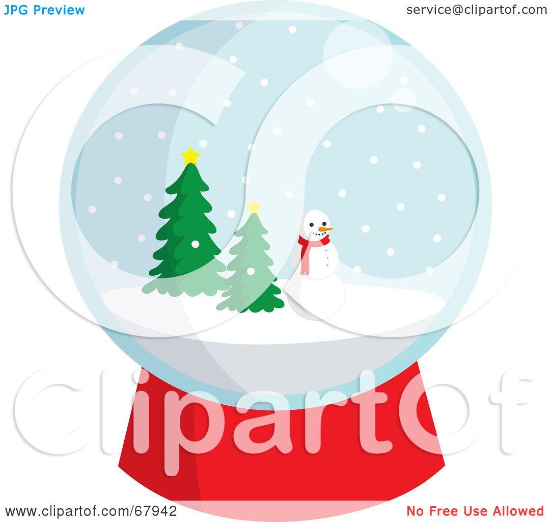 free clipart snow globe - photo #50