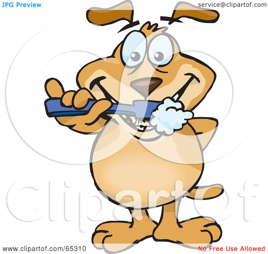 Brush Teeth Clip Art Royalty-free (rf) clipart
