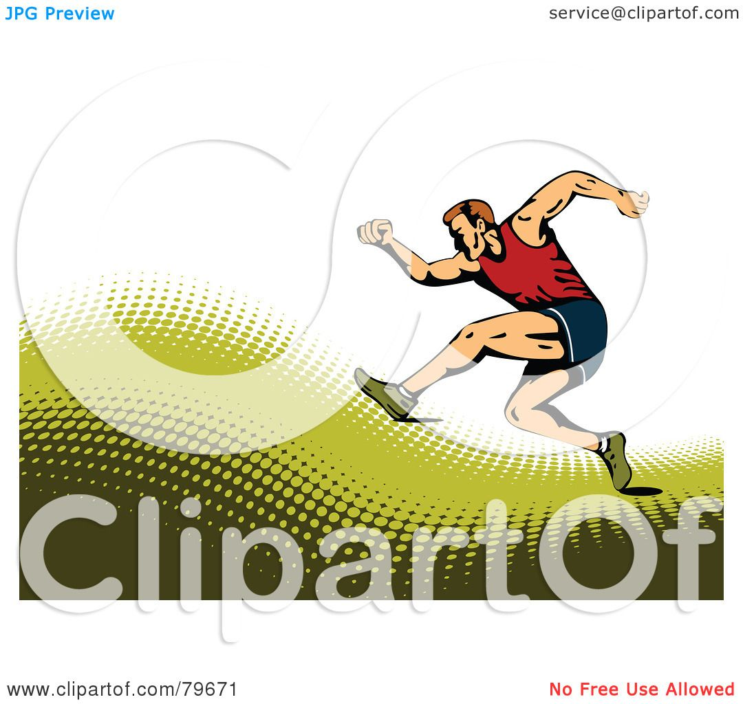 Royalty free rf clipart illustration of a sports - Clipart illustration ...