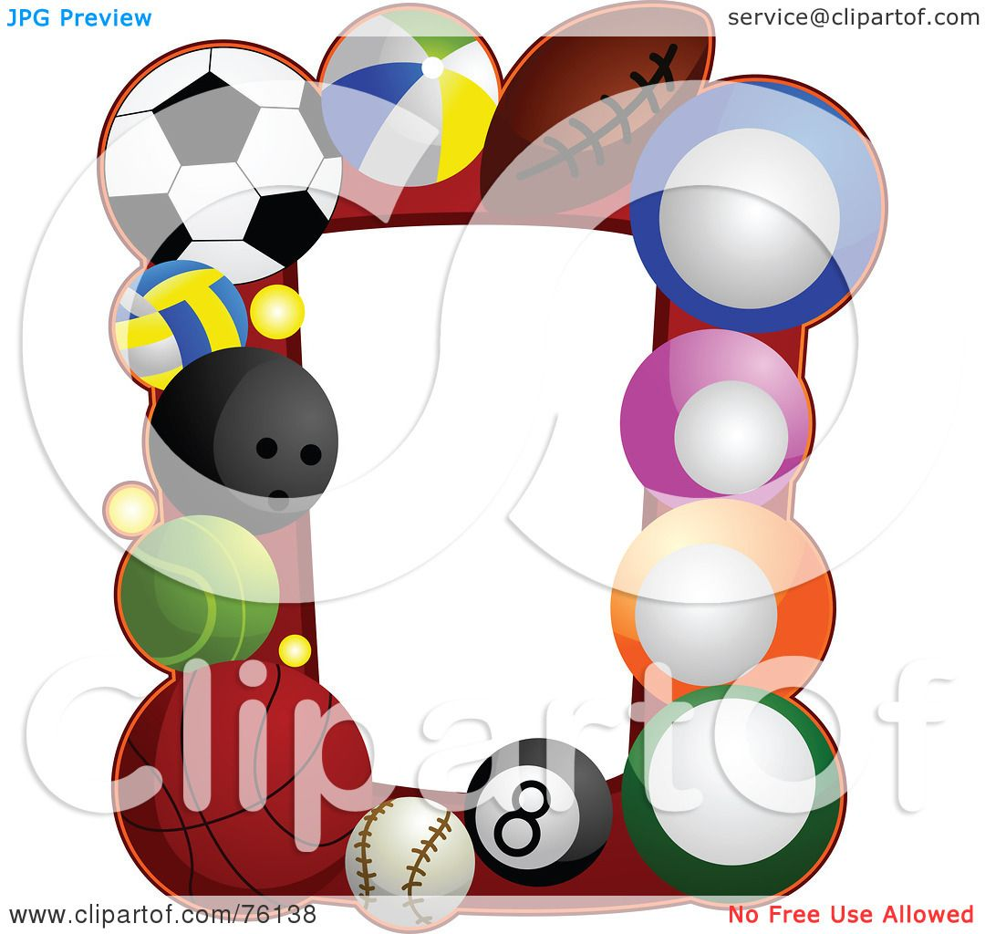 sports ball frame jpg 1080x1024 cartoon sports frames