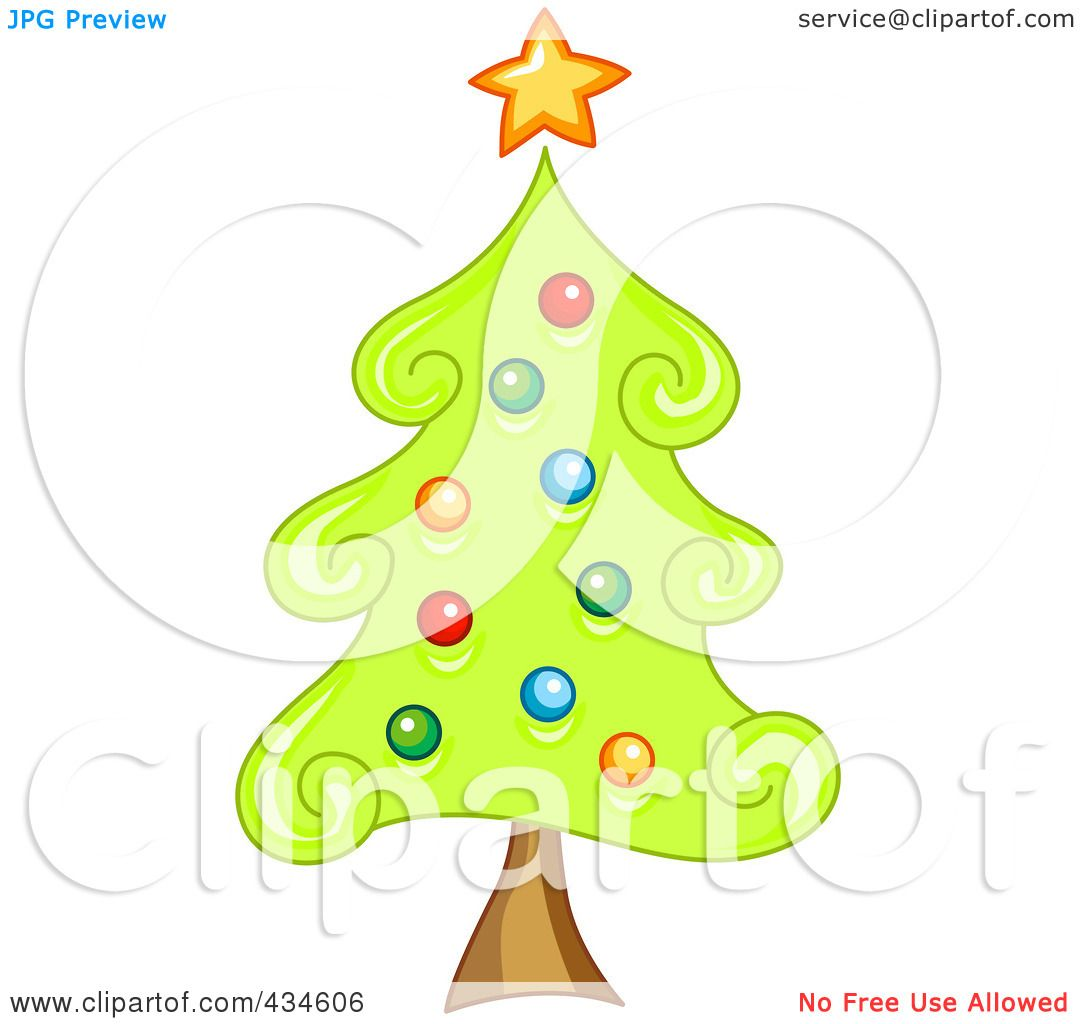 Royalty-Free (RF) Clipart Illustration of a Swirly ...