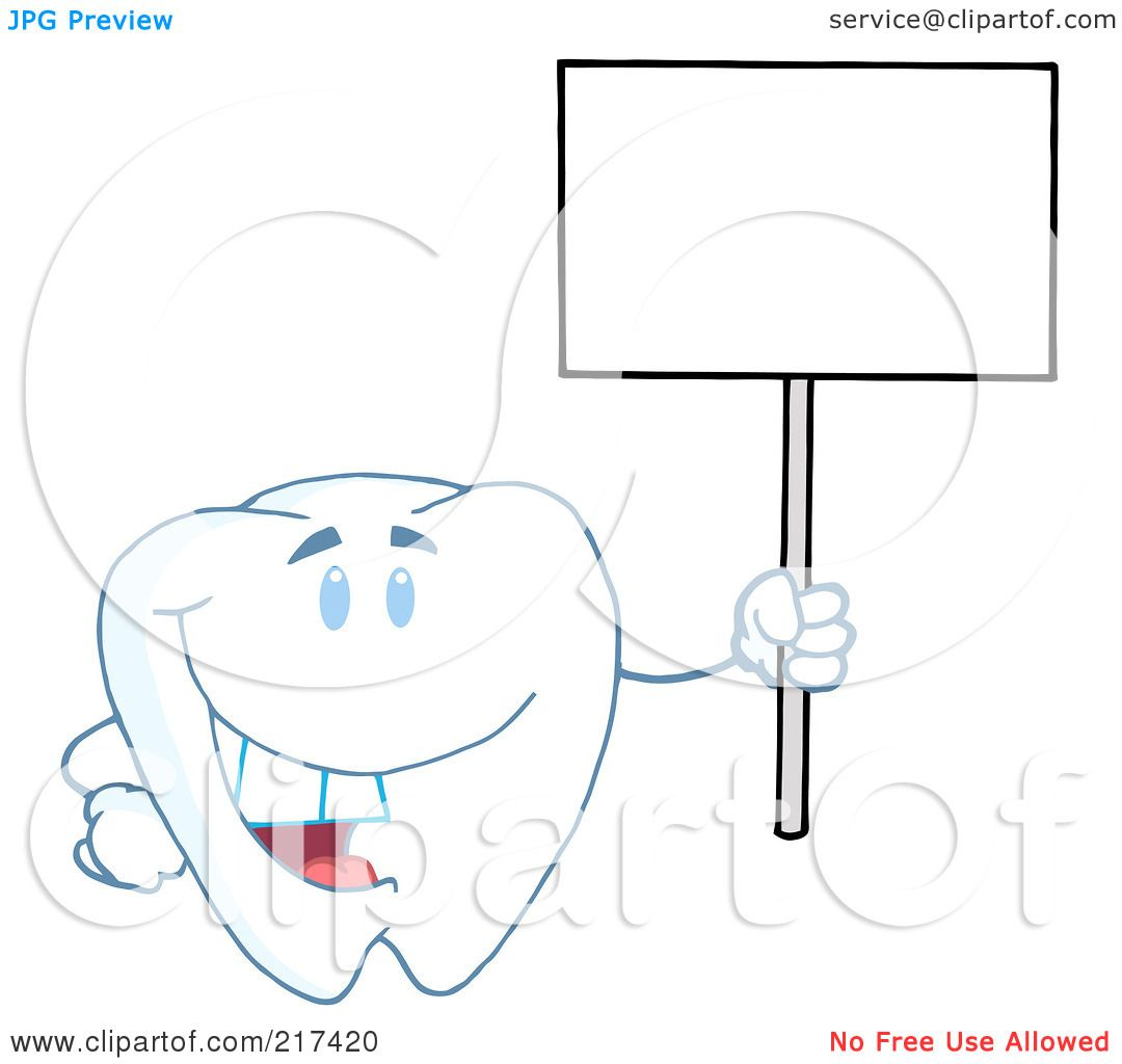 Royalty free rf clipart illustration of a tooth character royalty free rf clipart illustration of a tooth character holding up a small blank sign by hit toon ccuart Choice Image