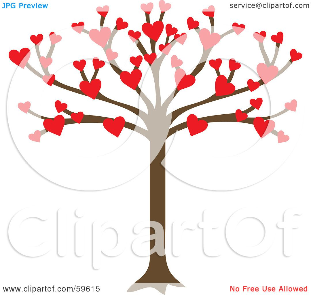 Royalty Free Rf Clipart Illustration Of A Tree Growing