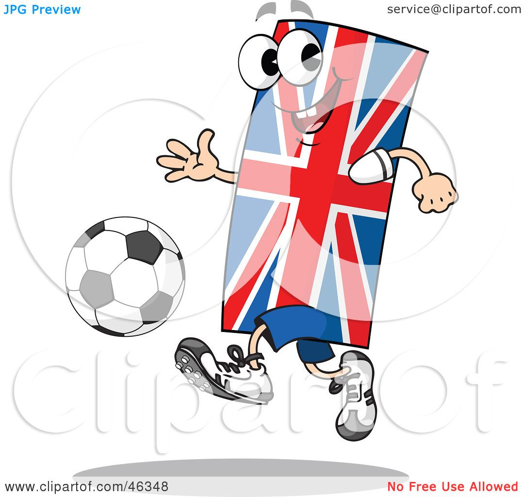 Royalty-Free (RF) Clipart Illustration of a Union Jack ...