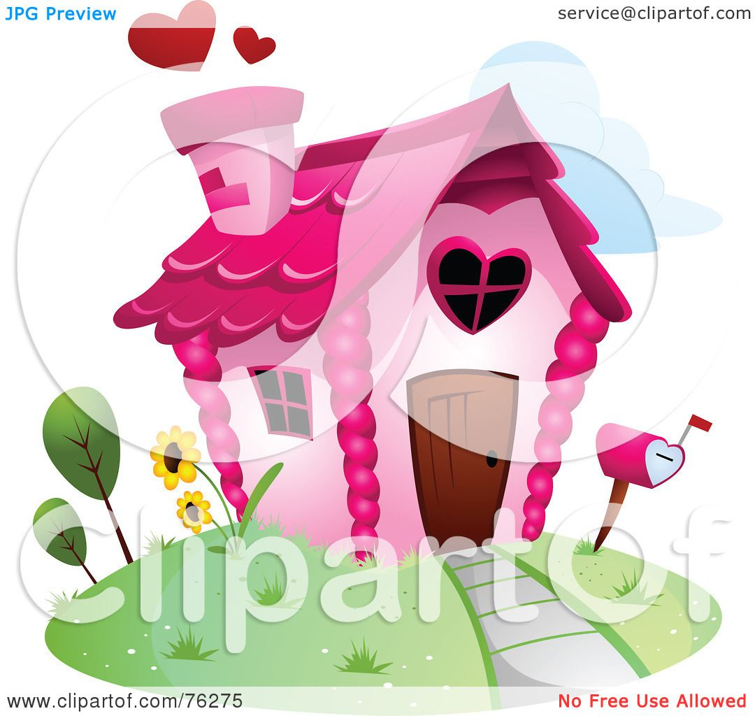 Royalty-Free (RF) Clipart Illustration of a Unique Heart ...