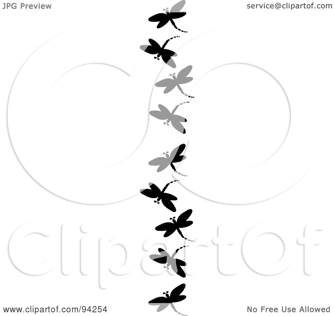 Royalty-Free (RF) Clipart Illustration of a Vertical ...