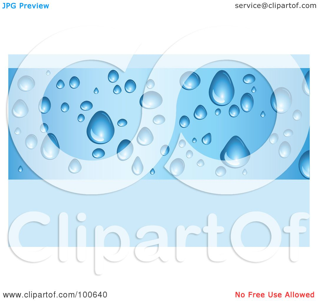 Royalty free rf clipart illustration of a water drop business royalty free rf clipart illustration of a water drop business card template or website background with blue copyspace by kj pargeter magicingreecefo Image collections