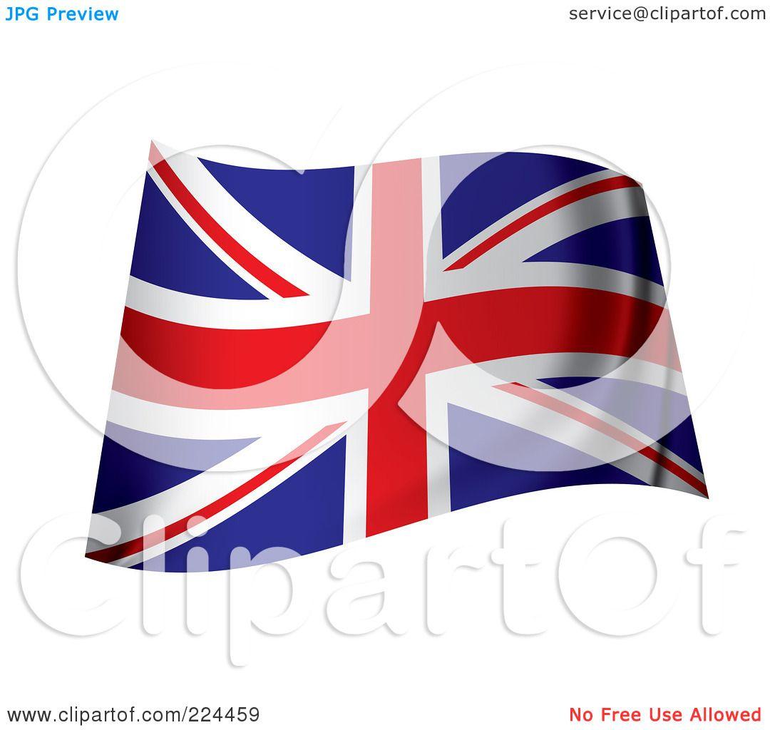royalty free rf united kingdom flag clipart illustrations