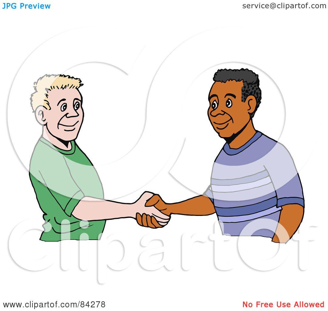 Shaking Person Clip Art