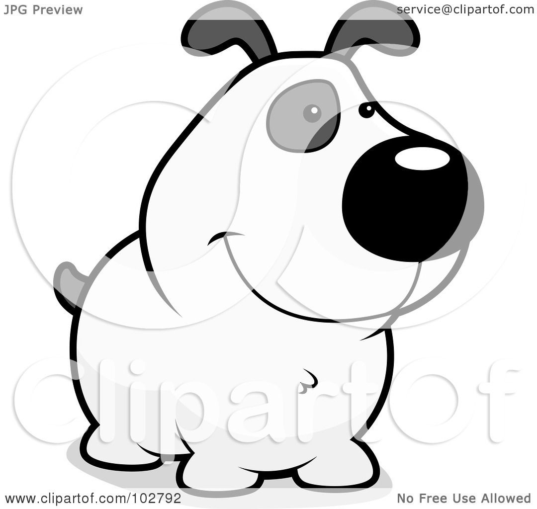 Royalty-Free (RF) Clipart Illustration of a White And Gray ...