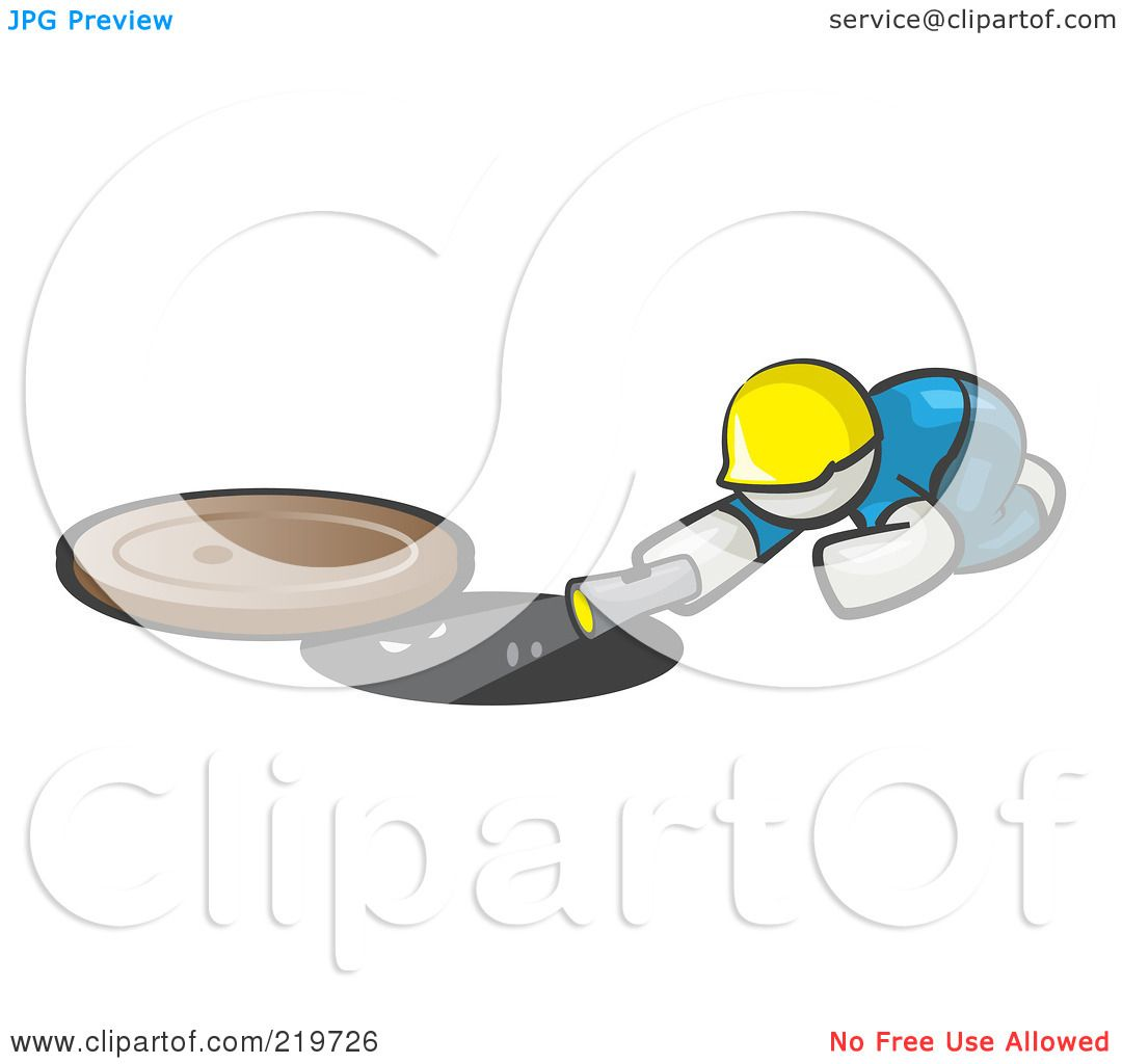 Royalty Free Rf Clipart Illustration Of A White Man