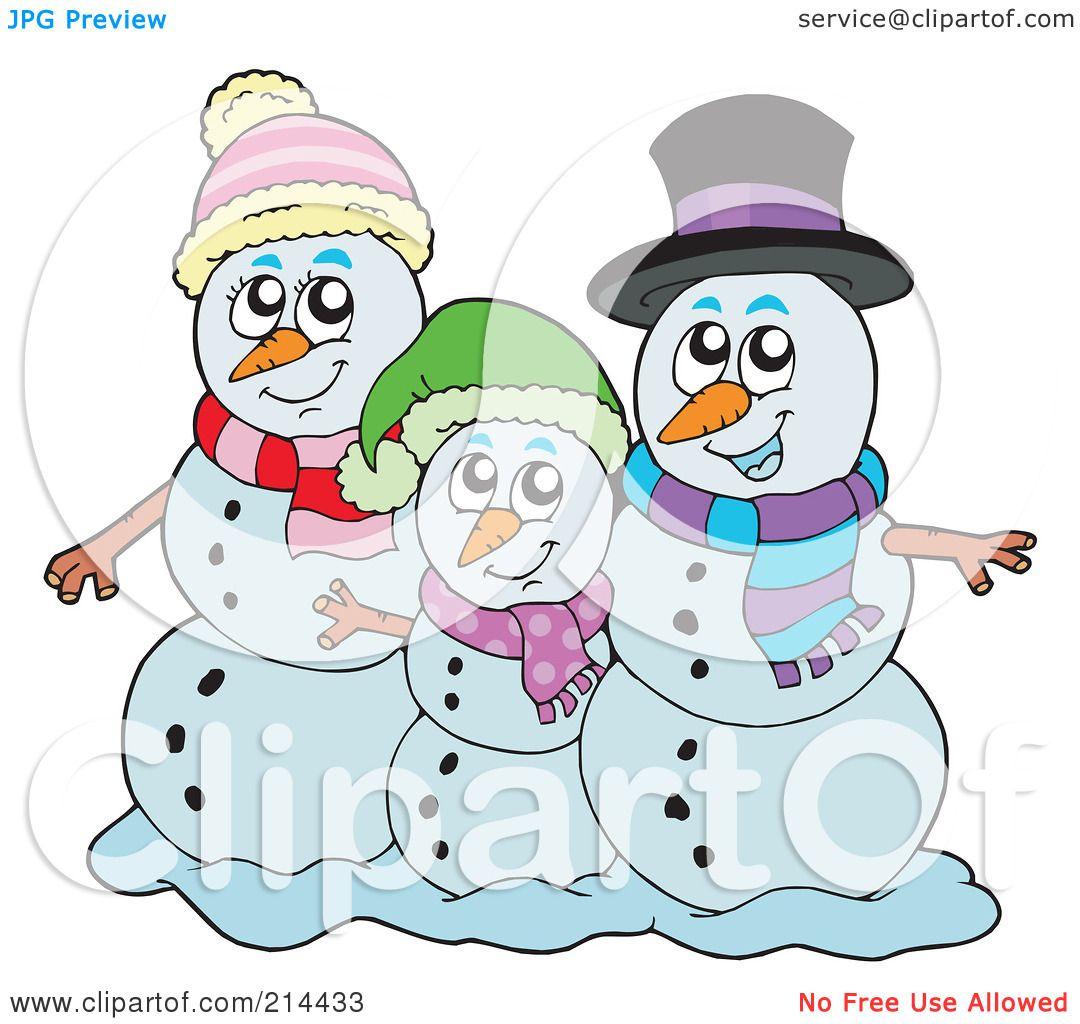 snowman family clip art free - photo #26