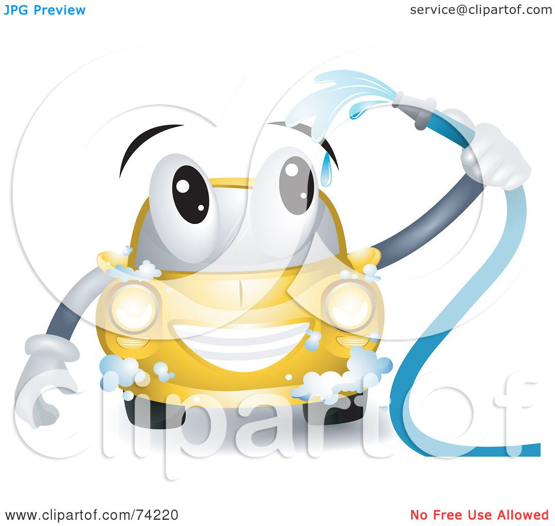 Free rf poodle clipart illustration 215241 by bnp design studio - Royalty Free Rf Clipart Illustration Of A Yellow Car Character Washing Itself