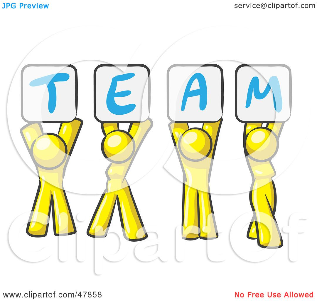 Team Clipart Royalty-free (rf) clipart