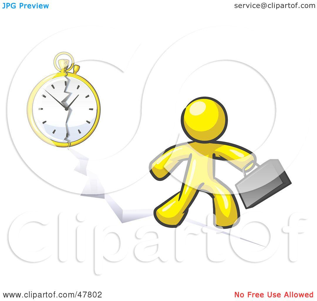 Royalty Free Rf Clipart Illustration Of A Yellow Design Mascot Man