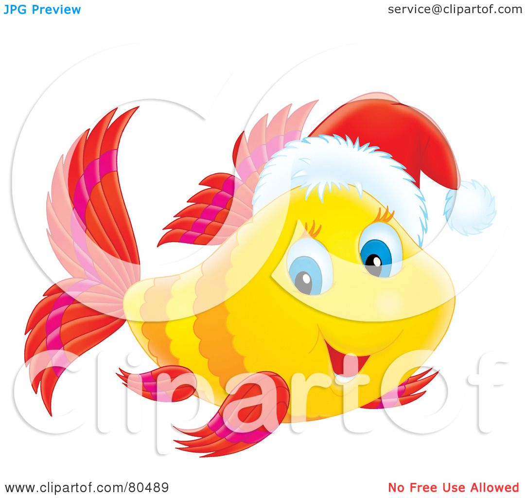 Royalty Free Rf Clipart Illustration Of A Yellow Marine
