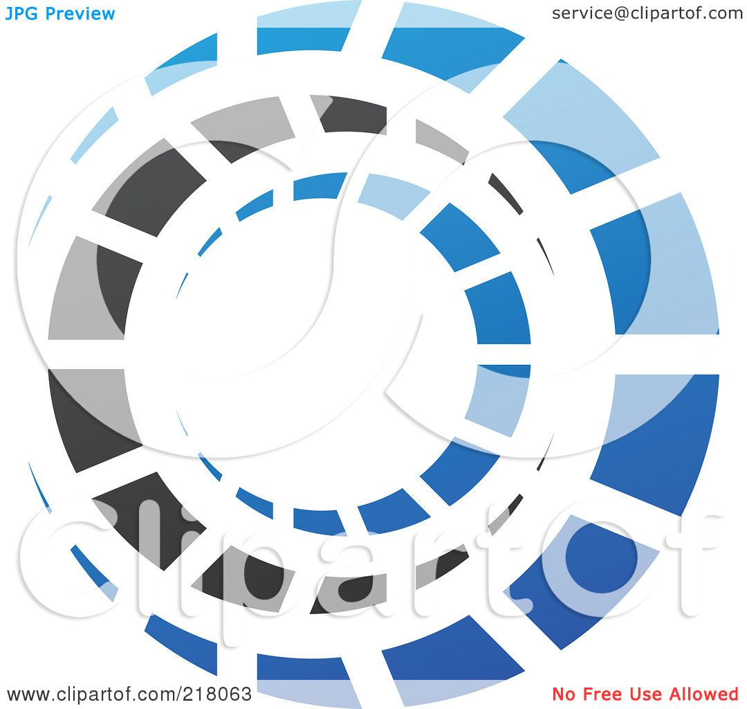 Royalty-Free (RF) Clipart Illustration Of An Abstract