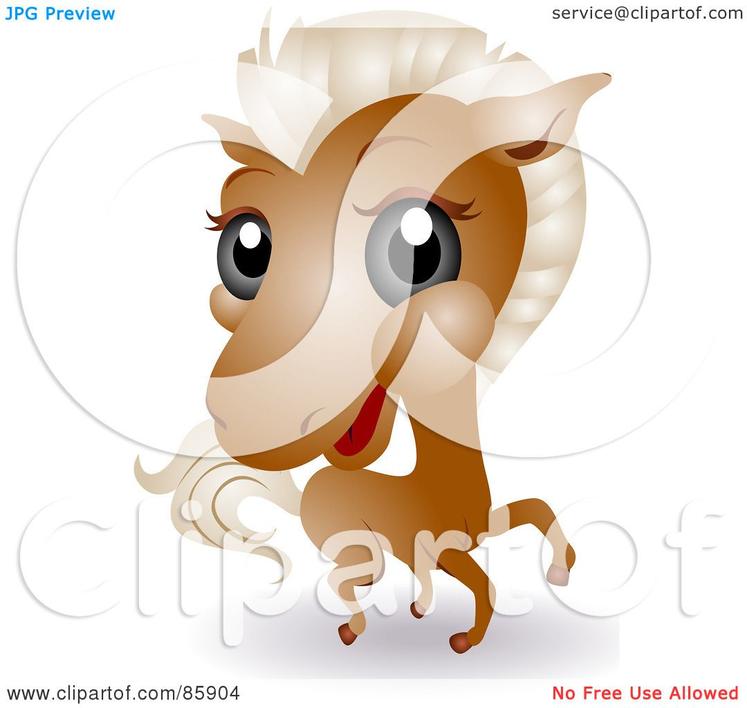 Royalty-Free (RF) Clipart Illustration of an Adorable Big Head ...