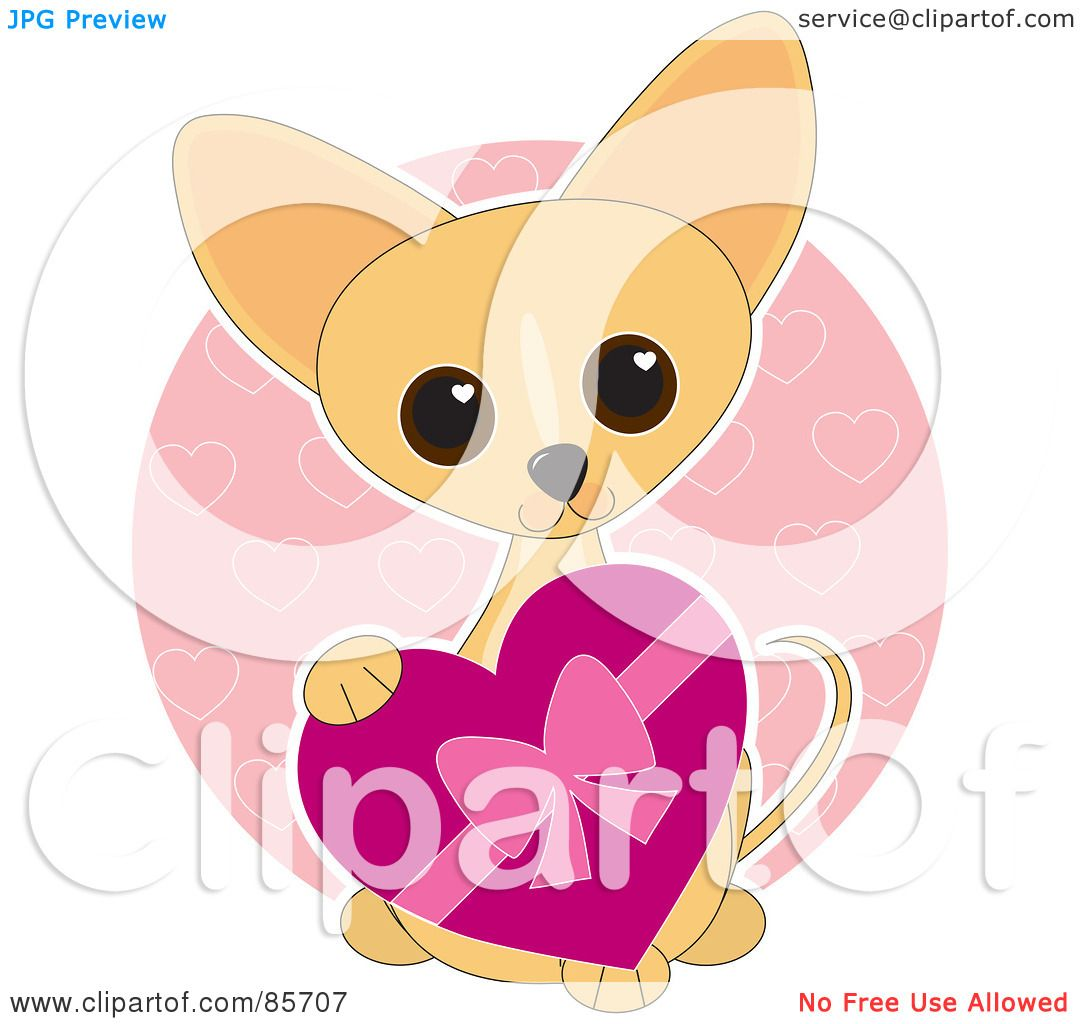 Royalty-Free (RF) Clipart Illustration of an Adorable Valentine's ...