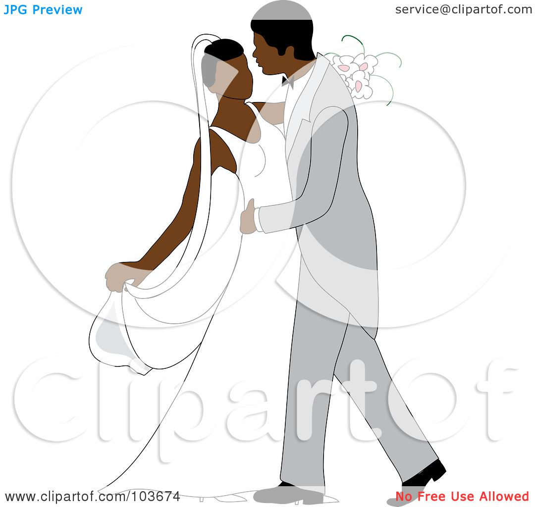 Royalty-Free (RF) Clipart Illustration of an African American ...