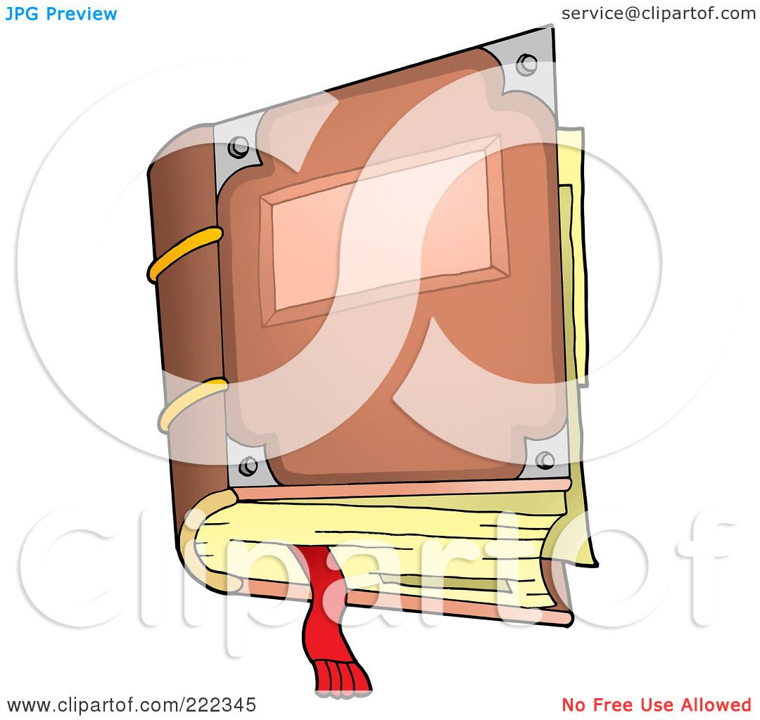 Royalty-Free (RF) Clipart Illustration of an Aged Closed