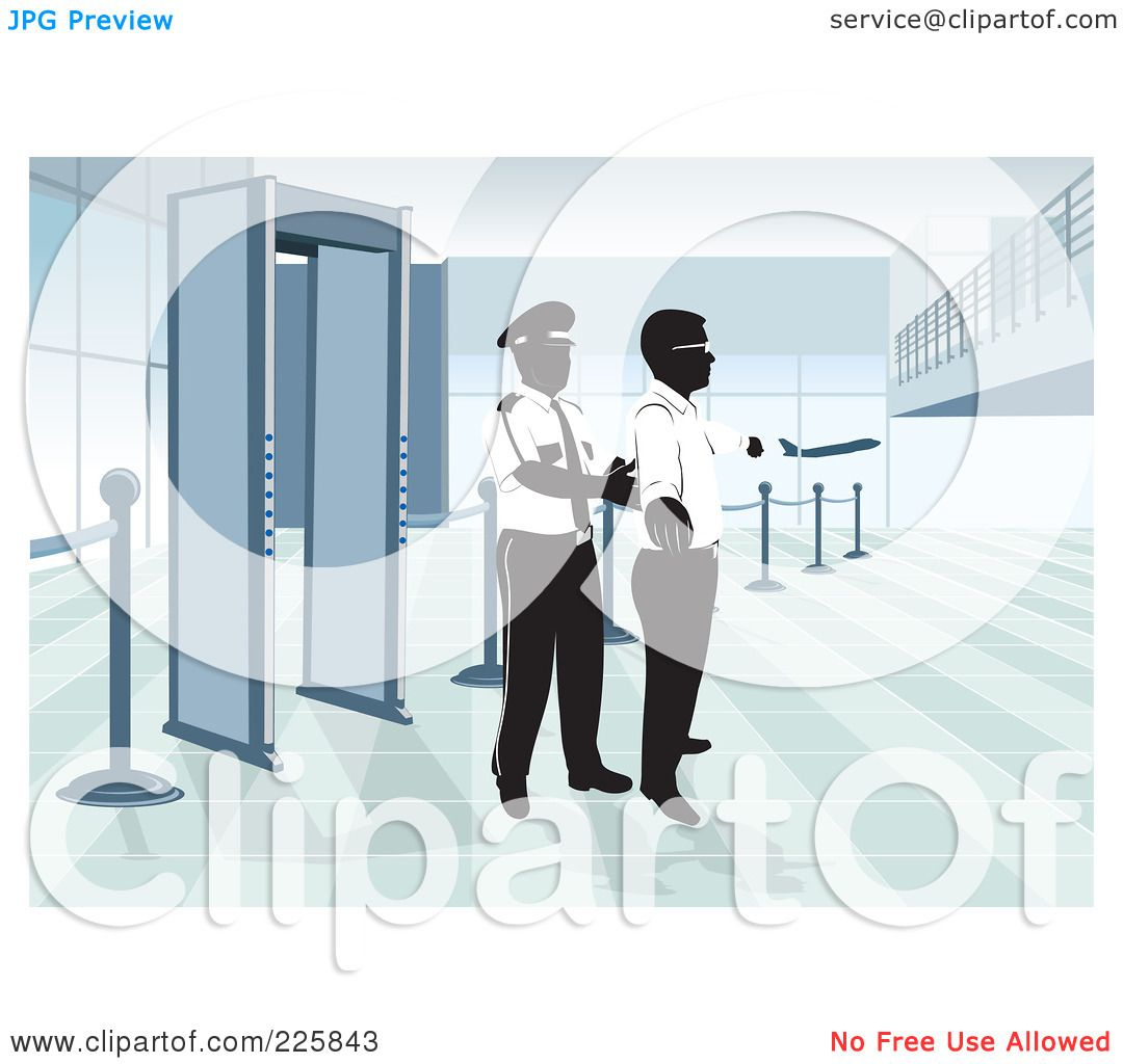 free clipart airport security - photo #28