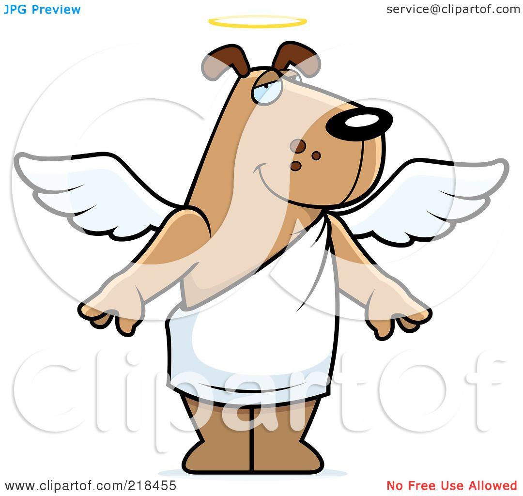 dog angel clipart - photo #18