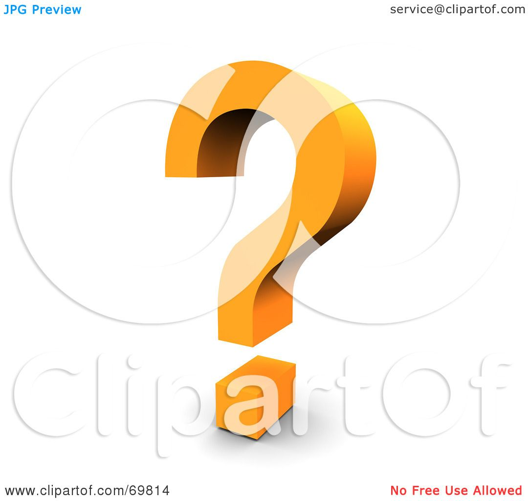 Royalty free rf clipart illustration of an angled orange royalty free rf clipart illustration of an angled orange question mark symbol by jiri moucka biocorpaavc Image collections