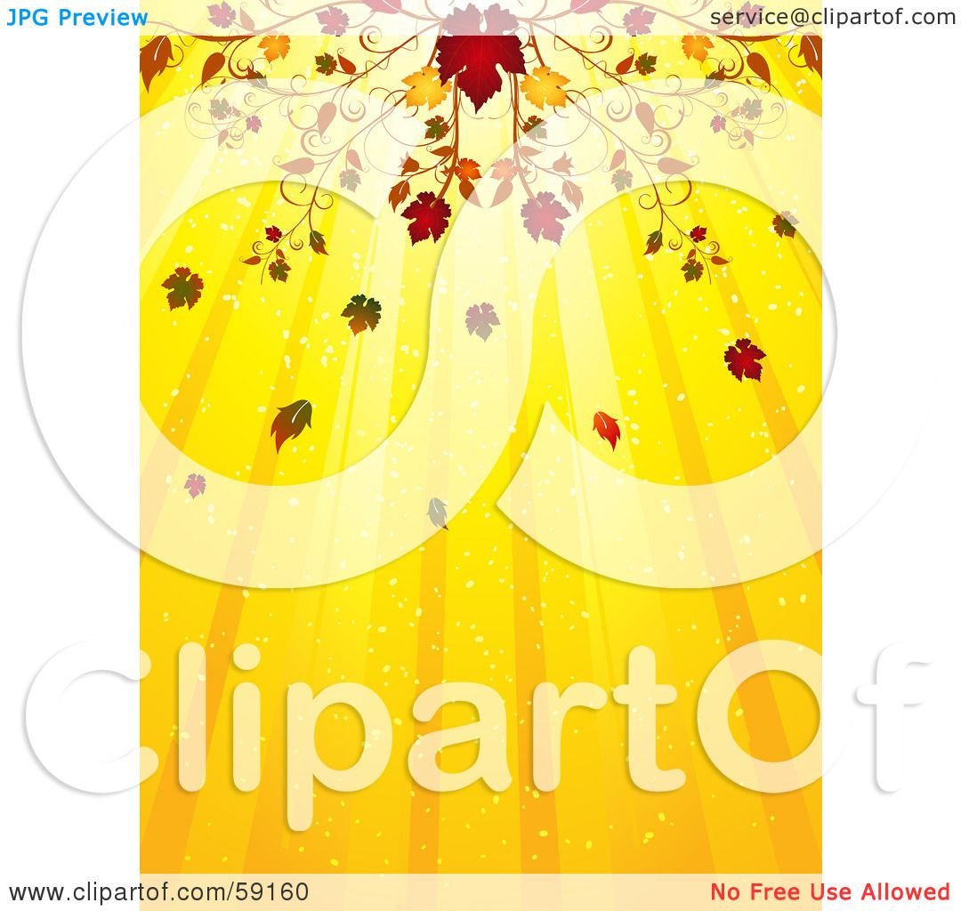 Royalty-Free (RF) Clipart Illustration of an Elegant Fall ...