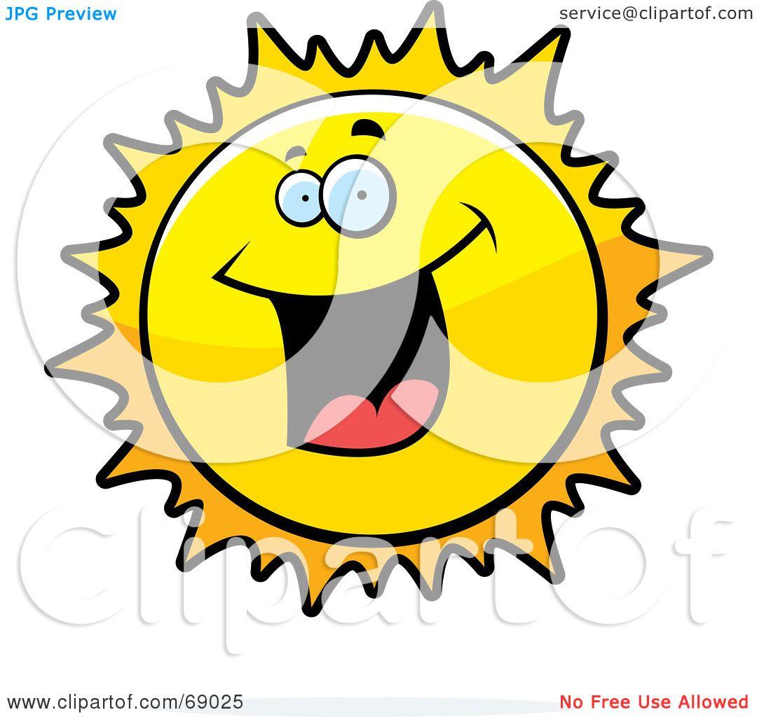Sun Clip Art Sick