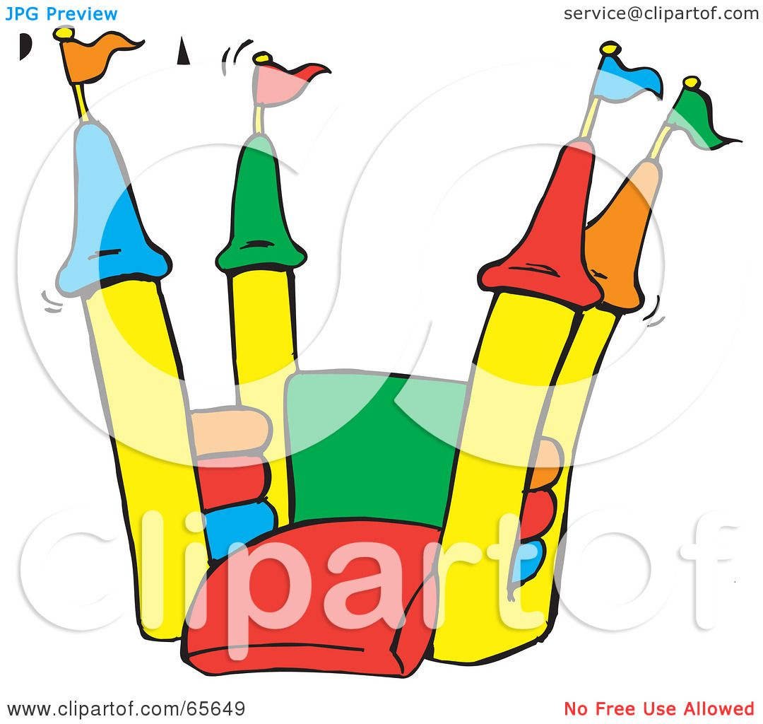 Royalty Free RF Clipart Illustration Of An Open Colorful