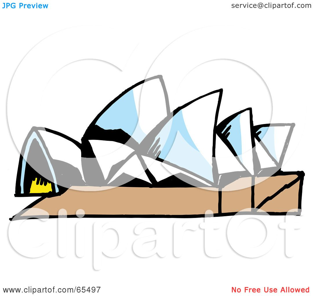 Opera House Cartoon an Opera House by Dennis