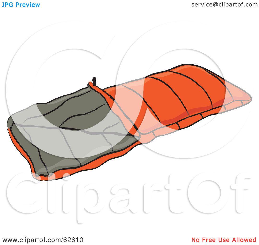 Royalty-Free (RF) Clipart Illustration of an Orange ...