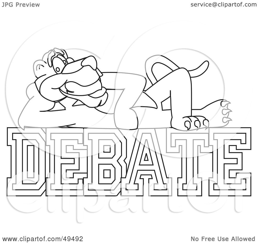 coloring pages of debates - photo#12