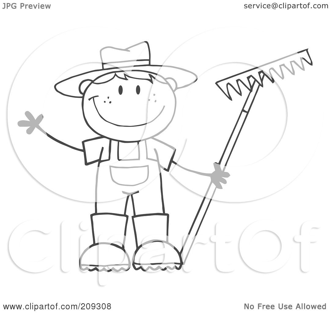 Displaying 11u0026gt; Images For - Farmer Boy Coloring Pages...