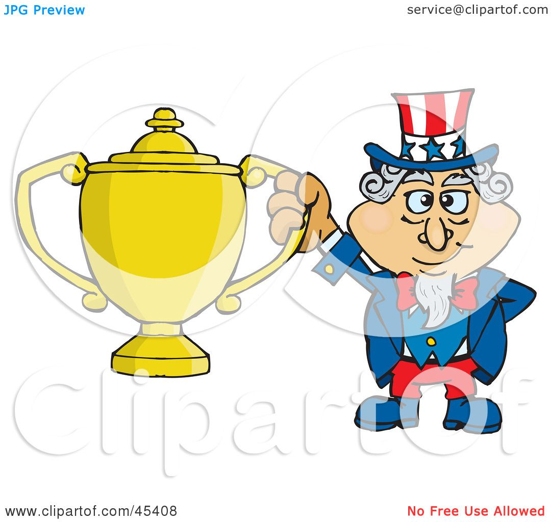 Royalty-free (RF) Clipart Illustration of an Uncle Sam ...