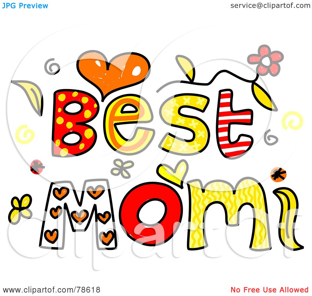 Royalty-Free (RF) Clipart Illustration Of Colorful Best