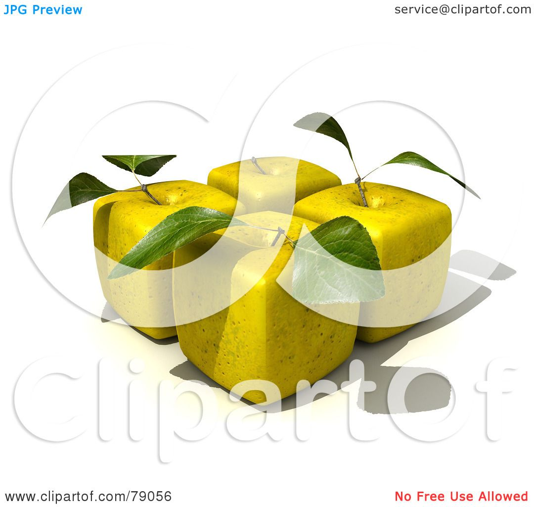 delicious green apple illustration - photo #32