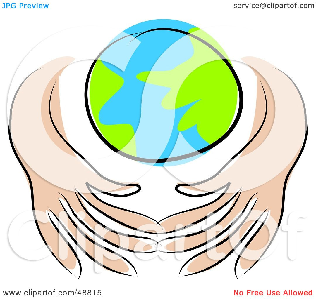 Royalty free rf clipart illustration of human hands for More clipart