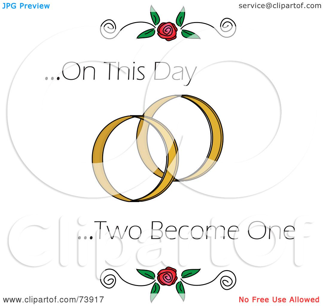 Royalty-Free (RF) Clipart Illustration Of On This Day Two