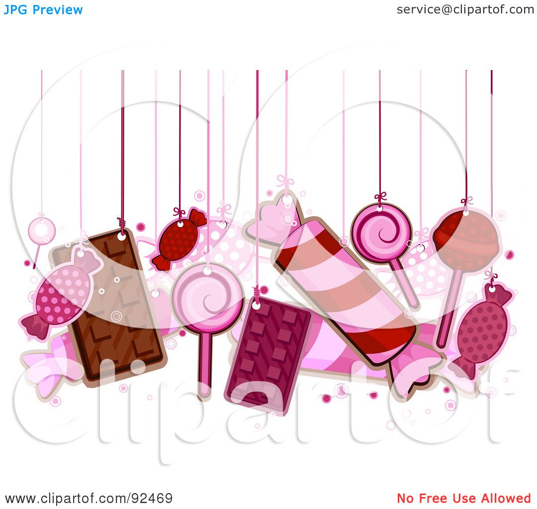 Wrapped Candy Clip Art Black And White Royalty-free (rf) clipart