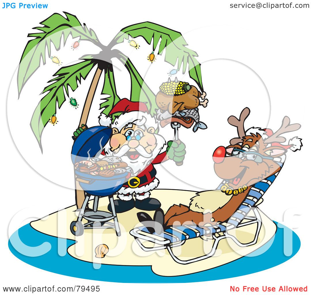 free clip art hawaiian christmas - photo #32