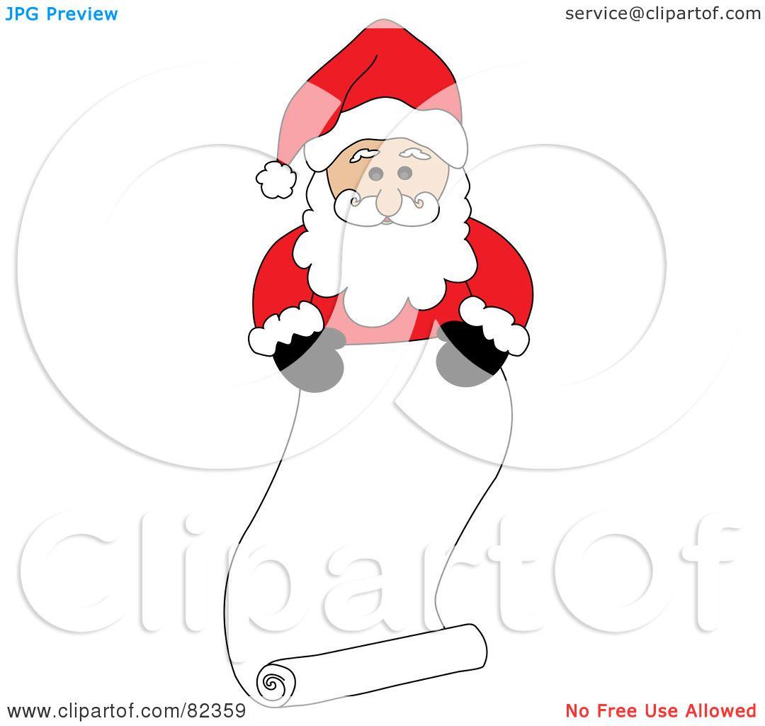 Naughty Or Nice Clip Art. Santa Claus Naughty Or Nice List. View ...