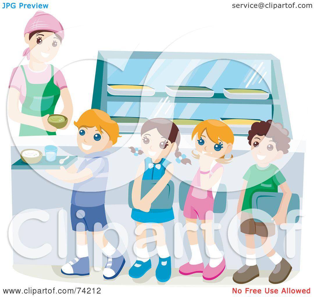 Royalty-Free (RF) Clipart Illustration of School Children ...